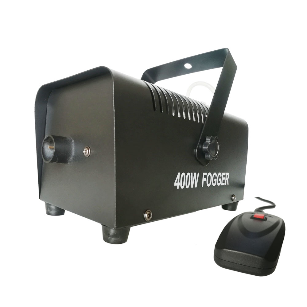 Mini Machine portative de brouillard de 400 watts Halloween et partie refroidisseur de brouillard de Machine de fumée de brouillard avec
