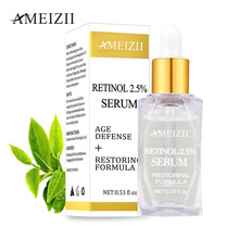 Ameizii Retinol 2.5% Serum Firming Anti Wrinkle Shrink Pore Repair Skin Hyaluronic Acid Essence Whitening Cream Facial Treatment