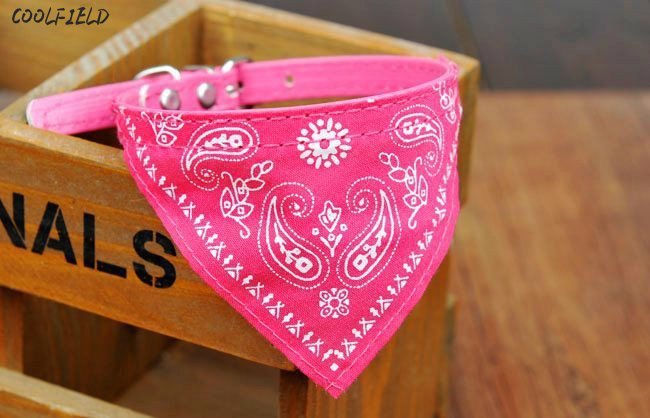 Lovely Pet Dog Scarf Collar Adjustable Puppy Bandana Quality Cat Tie free shipping 1Pc