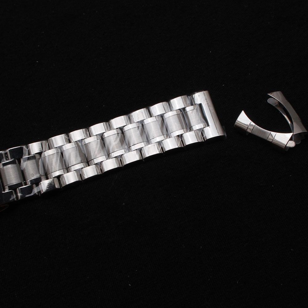 Kordonlu saat erkek bilekliği kayışları bilezikler 14mm 15mm 16mm - Saat Aksesuarları - Fotoğraf 3
