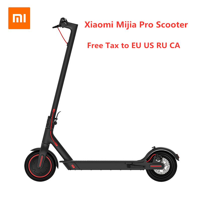 D'origine Xiaomi Mijia Pro Scooter électrique intelligent Pliable Hoverboard planche de skate KickScooter Mini Deux Roues 45 KM Scooter