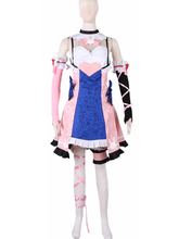 OW Hana Song D.Va Lolita Dress Cosplay Costume Custom Made Any Size 2016 custom size yellow hellsing seras victoria cosplay costume dress