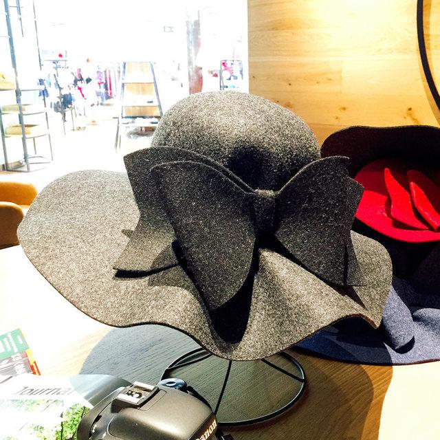 Online Shop 2018 New Australia Wool Felt Hat England Women Fedora ... 5902933c0743