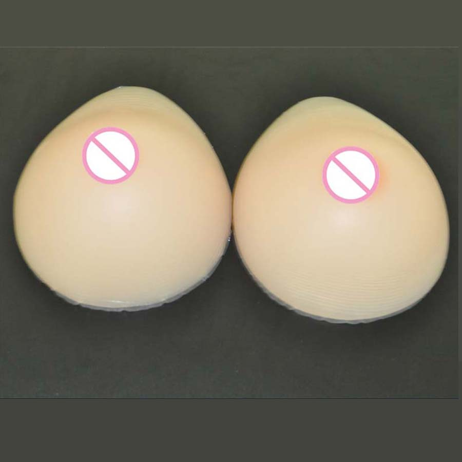 1 pair 1000g 36D Cup Fake silicon breast cancer Artificial Boobs Tits for vagina transgender Bra pads mastectomy peitos american cancer society breast cancer certificationed screening device women 654nm red light self check at home for sale