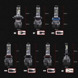 Image 5 - BraveWay CSP Chip Headlight Bulbs H4 H7 H8 H9 H11 LED Lamps for Car 12V 9005 HB3 9006 HB4 9012 HIR2 H4 Led Bulbs for Motorcycle