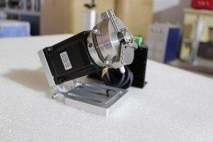Máquina de gravura do laser do co2 máquina de marcação do laser da fibra do eixo rotativo diâmetro giratório z-eixo anel rotativo jóias cinzelando rotativo