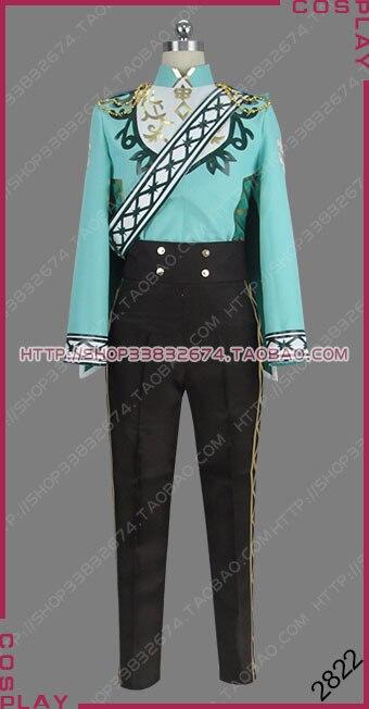 Ensemble étoiles chevaliers Festival gracieuse Fleur De Lis stade De visualisation De fleurs fleuri léo Tsukinaga uniforme Cosplay Costume S002