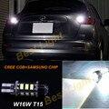 1x Белый 6000 К T15 W16W КРИ Чипсы + SAMSUNG LED Обратный Резервный Свет Лампы Для Nissan Juke 2011-2015