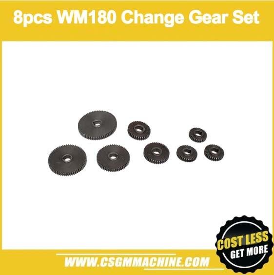 Free Shipping!/WM210-CS 9pcs Thread Cutting Kits/Metric Change Gear Set for WM210 Lathe MachineFree Shipping!/WM210-CS 9pcs Thread Cutting Kits/Metric Change Gear Set for WM210 Lathe Machine