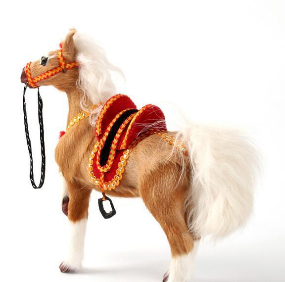 Realistic Simulation Horse Shaped Doll