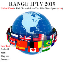 RANGE IPTV with 15000 Full TV (Adult xxx) Italy Israel Netherlands UK DE Nordic subscription 1 Year For M3U Mag Smart TV Android(China)