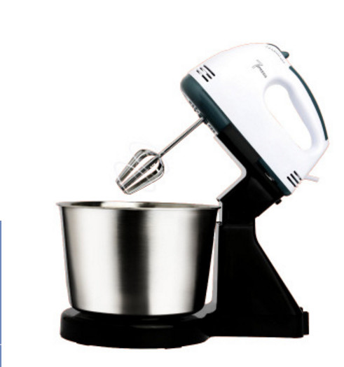 Table Electric Food Mixer mini desktop 7 Speeds Automatic Eggs Beater handheld butter Blender Baking Whipping cream Machine