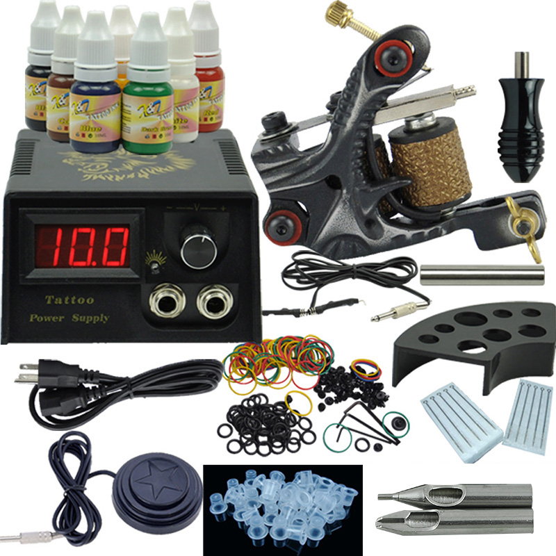 100 popular tattoo gun starter kit your guide to for Best tattoo starter kit