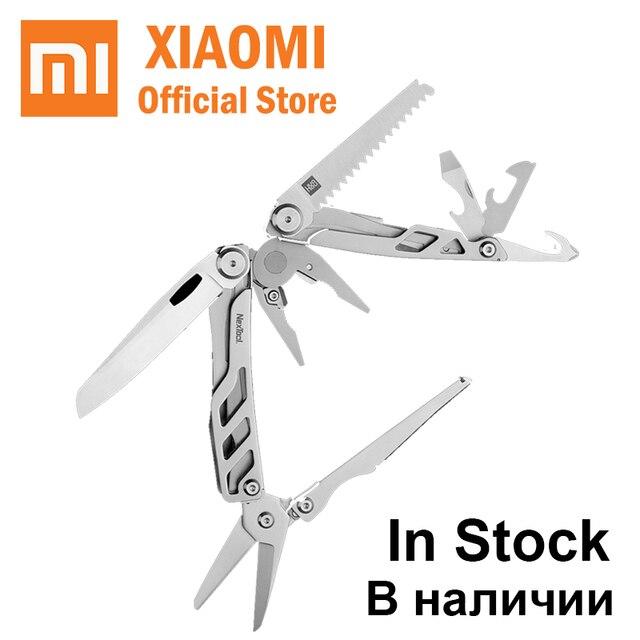 Xiaomi Mijia huohou multi-función cuchillo plegable de bolsillo 420J2 hoja de acero inoxidable caza camping supervivencia herramienta sharp al aire libre