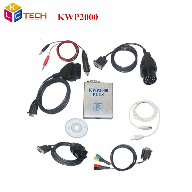 Prix pour 2017 Meilleur Qualité KWP2000 + Plus ECU Flasher Chip Tuning II Puce Tunning ÉCUS KWP2000 OBD2 Plus Outil De Diagnostic meilleur service