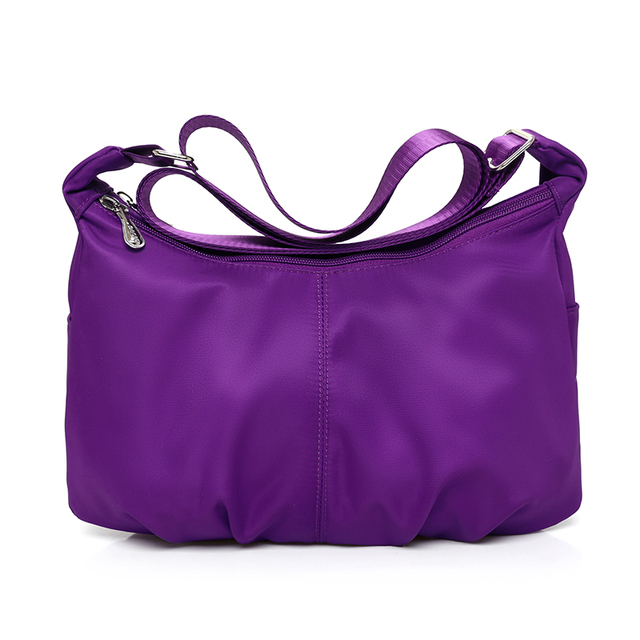 Hot Venda Bolsa Sacos de Mulheres Mensageiro para Mulheres Hobos Nylon Impermeável Senhoras Ombro Crossbody Bags sac a principal bolsa feminina
