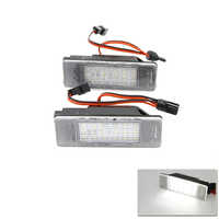 CAN-bus Led Number License Plate Light Lamp For Benz Sprinter 906 Viano W639 Vito W639 No Error Auto Replacement Bulbs