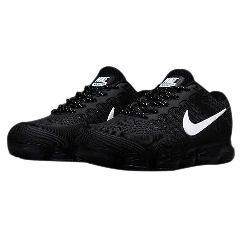 21567c5b84317 ... Original Authentic Nike Air Vapormax Flyknit Men s Running Shoes Sport  Outdoor Sneakers Breathable Athletic Low Top ...