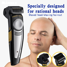 Professional rechargeable Hair Clipper Cordless Hair Trimmer Electric Hair Shaver Ceramic Titanium Blade hair razor for Adults цены