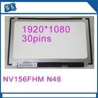 Высокое качество NV156FHM N4B 120 Гц FHD 1920X1080 матовая светодиодный Матрица для ноутбука 15,6 Панель монитор lcd дисплей Замена