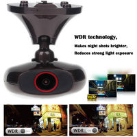 Frete grátis! HD 1440 P WI-FI Cam Painel Do Carro M6 Plus GPS Câmera 3 M Adhesive Mount Bracket