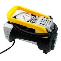 3.35L/Min Auto Car Air Compressor Pump Durable Fast Pumping Tire Inflator With Lighting DC 12V Car Inflatable Pump