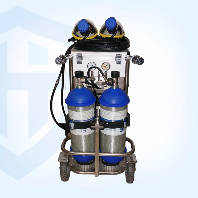 9f Lovely Sea Solid Chzk2 30 Mobile Gas Source 2 Bottles 9l Car Air Respirator Scba Fire High Safety