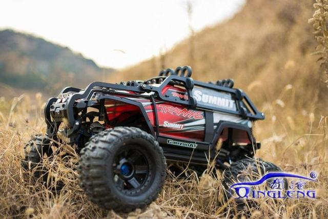 Body protection ,Roll cage for traxxas summit 1/10 ,imported nylon,apply to the original car shell,Include wheelie bar