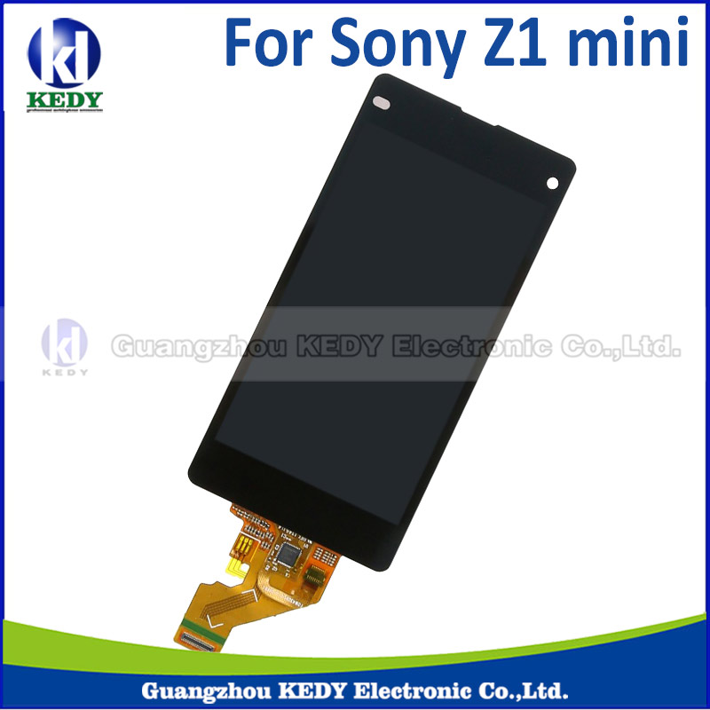 1pcs lowest price For Sony for Xperia Z1 mini compact M51w D5503 LCD Display with Touch