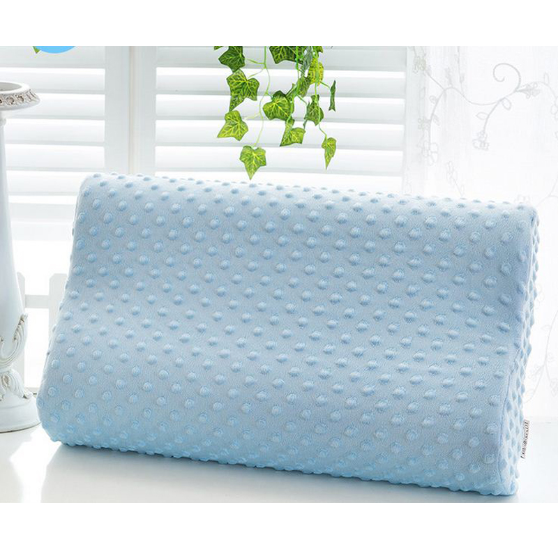 Memory Foam Pillow Care Orthopedic Latex Neck Pillow Fiber Slow Rebound Cervical Health Care