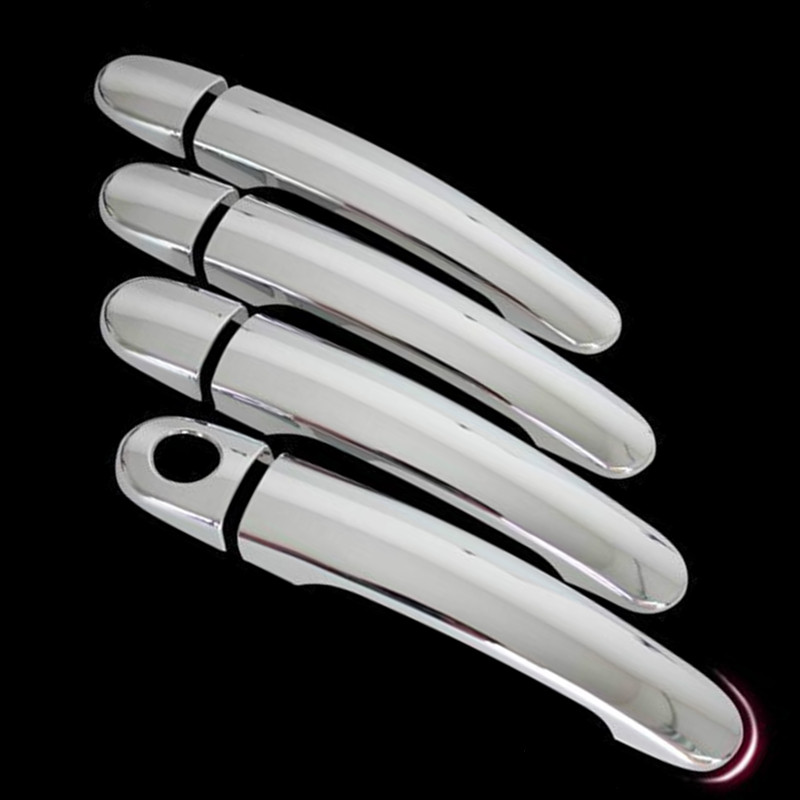 Car Accessories Door Handle Cover Protector Cover For Vw Volkswagen Jetta 2012 2013 2014 Abs Chrome 8Pcs Per Set Car-Styling car styling car auto accessories door handle cover trim protector cover for vw golf 6 2009 2010 2011 2012 abs chrome 8pcs