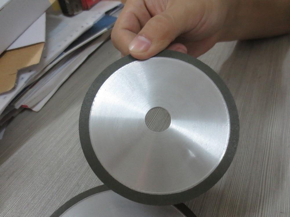 """Mola piana da 4 """", spessore 3 mm! Per affilare utensili in metallo duro, fabbricazione di mole, mola per affilare motosega."""