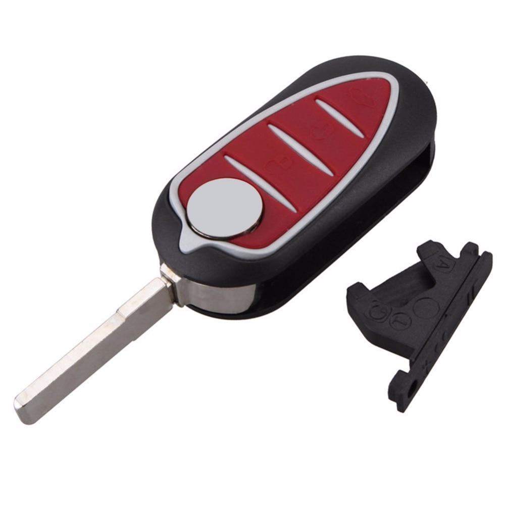 3 Buttons Remote Car Key Case For Alfa Mito Giulietta GTO
