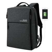 New Backpack Men Business Backpack Waterproof Laptop Bag Backpacks Travel Fashion Multifunction Leisure Simple Backpack