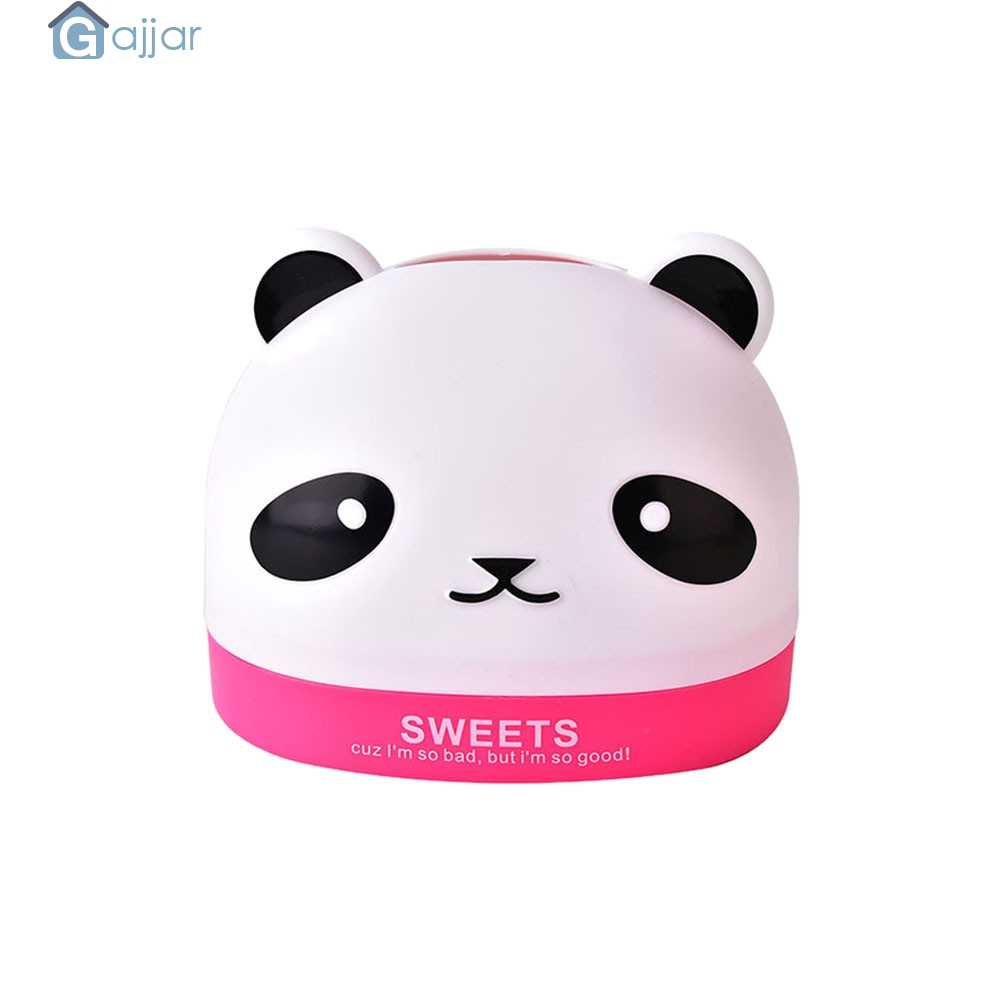 Home Kitchen Tool Cute Panda Desktop Storage Pumping Paper Box Home Company Toilet Paper Box Design DropshipingAug8