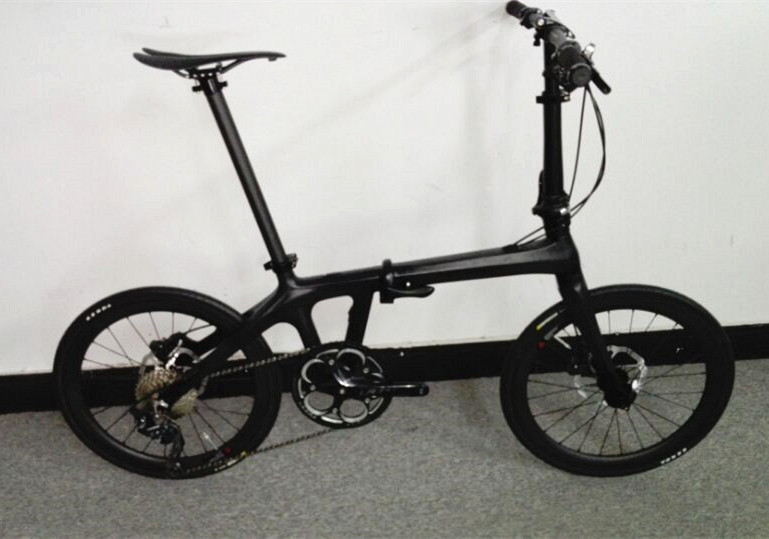 Cheapest China 100 Full Carbon 20 Inch Folding Bicycle 3k