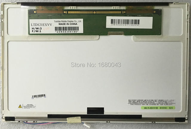 Бесплатная доставка LTD121EXVV LTN121AT02 LTN121W1-L03 B121EW03 V.0 N121I3-L01 LTN121AT01 LTD121EXEV 20PIN XJ LCD