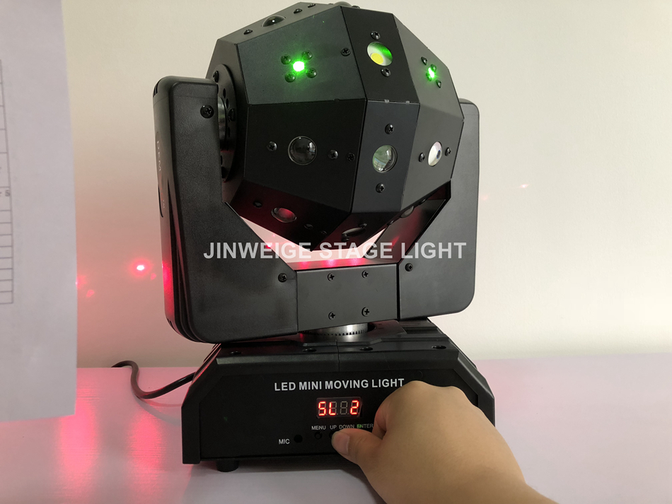 Free Shipping 4pcs/lot Green Red Laser 4x15w Strobe 16x3w Led Moving Heads Professional Stage Disco Light To Prevent And Cure Diseases Stage Lighting Effect Back To Search Resultslights & Lighting