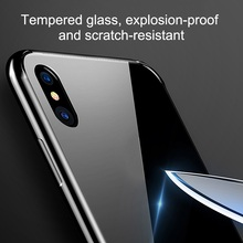 Tempered Glass Glossy Case For iPhone  8  X XR  XS MAX  LeBron James phone case  23  sport  case for Mirror Glossy  phone