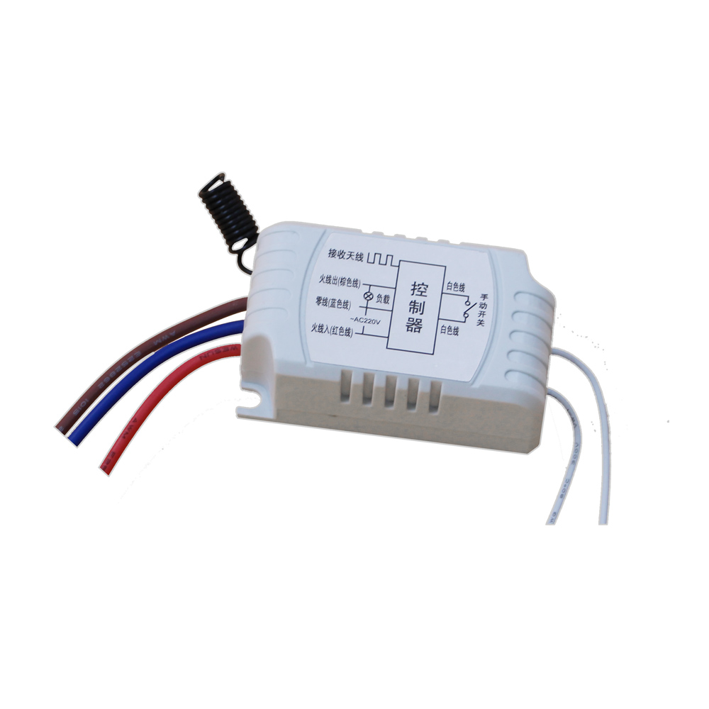 Most Simple Wiring New Ac220v 1ch Relay Smart Home Rf Remote Control Switch System 1x Transmitter 3 X Receiver Hot Sale In Switches From Lights Lighting