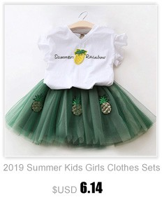 Children Clothing 2019 Summer Toddler Girls Clothes 2pcs Outfits Kids Clothes For Girls Tracksuit Suit For Girls Clothing Sets