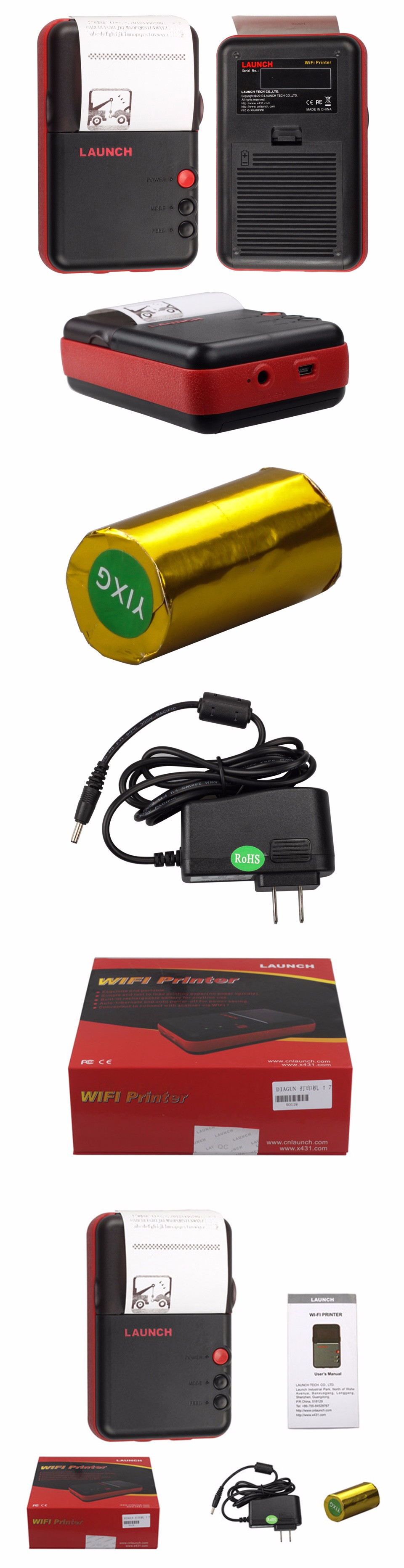 x431 vmini printer 960