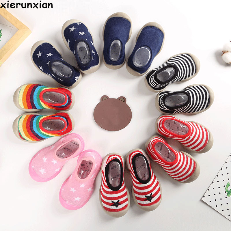 Cute Anti-slip Baby Thin Sock Baby Girl Shoes Baby Boys Socks 2019 Toddler Floor Socks Newborn Infant Shallow Mouth Baby Shoes