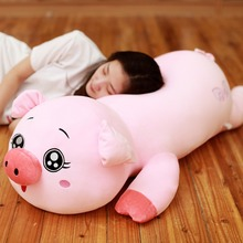 цены на Kawaii New Year Pig Mascot Washable Angel Soft Body Pig Stuffed Plush Toy Doll Birthday Gift Juguetes Brinqueo Toys for children  в интернет-магазинах