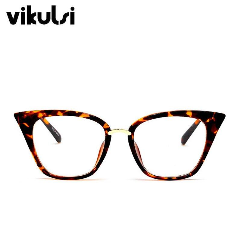 Mode Sexy Dame Katze Brillen Frames Für Frauen Marke Designer ...