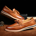 Мужчины Мокасины Мокасины Квартиры Обувь Кисточкой Повседневная Марка Натуральная Кожа Дизайнер 2016 Вождения Обувь Мужской Итальянской Моды