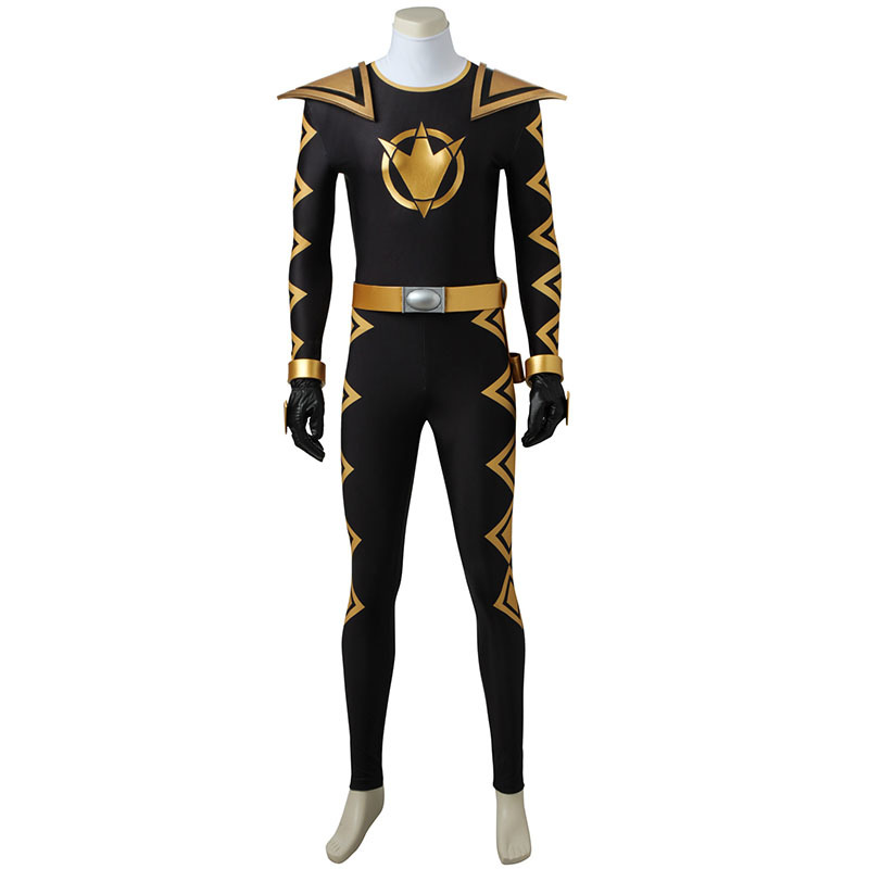 Power Rangers Dion Thunder Black Linker and Red Linker The twelfth Season Cosplay Costumes And Cosplay Shoes