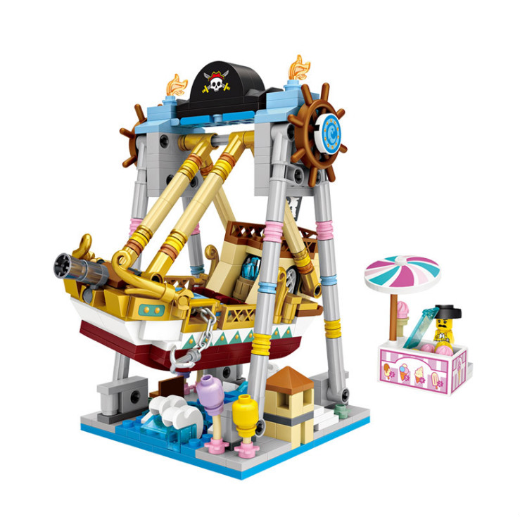 Building Blocks Compatible with  ing Technic loz1717 541P Models Building Kits Blocks Toys Hobby Hobbies For Chlidren