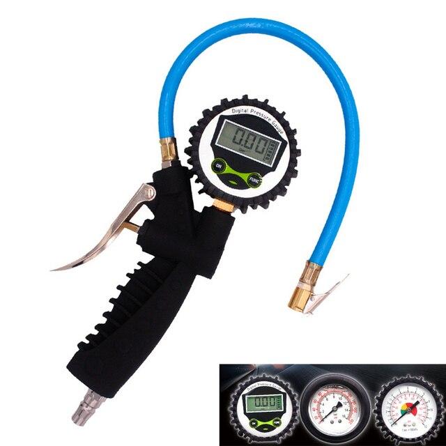Bandenspanning Opblaasbare Pistool Auto Tyre Digitale Display Tire Luchtpistool Digitale Manometer Foetale Manometer