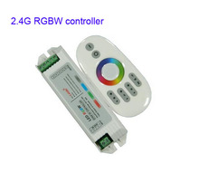 1X New arrival 2.4G touch RGBW LED controller DC12-24V input free shipping